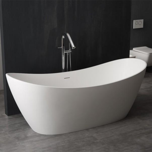 Badewanne freistehend 185 x 79 matt